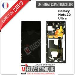 Ecran LCD Noir Original Samsung Galaxy Note 20 Ultra 5g Sm-n986b