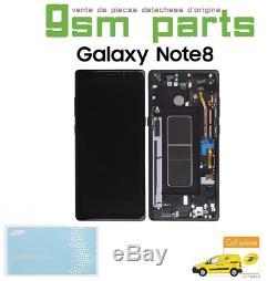 Ecran LCD Noir Original Samsung Galaxy Note 8 SM-N950F