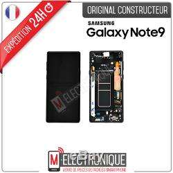 Ecran LCD Noir Original Samsung Galaxy Note 9 N960