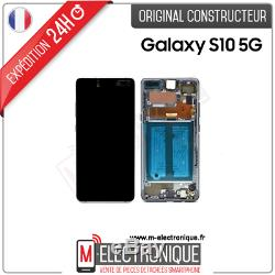 Ecran LCD Noir Original Samsung Galaxy S10 5g Sm-g977b