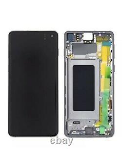 Ecran LCD Noir Original Samsung Galaxy S10 Sm- G973f