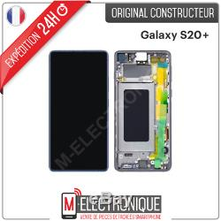 Ecran LCD Noir Original Samsung Galaxy S20+ Sm-g985f