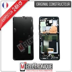 Ecran LCD Noir Original Samsung Galaxy S20 Ultra Sm-g988f