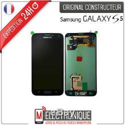 Ecran LCD Noir Original Samsung Galaxy S5 G900 / G901
