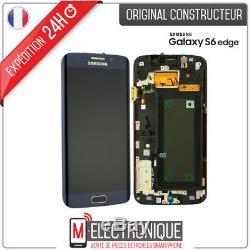 Ecran LCD Noir Original Samsung Galaxy S6 Edge G925