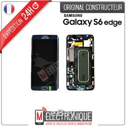 Ecran LCD Noir Original Samsung Galaxy S6 Edge + G928