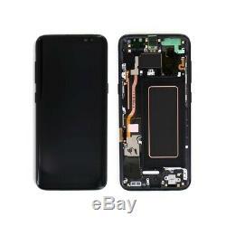 Ecran LCD Noir Original Samsung Galaxy S8 G950F service pack