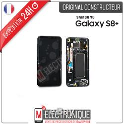 Ecran LCD Noir Original Samsung Galaxy S8+ Sm-g955f
