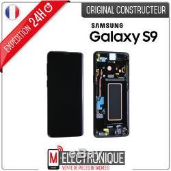 Ecran LCD Noir Original Samsung Galaxy S9 G960F