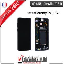 Ecran LCD Noir Original Samsung Galaxy S9+ G965F