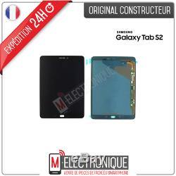 Ecran LCD Noir Original Samsung Galaxy Tab S2 9.7 Sm-t819