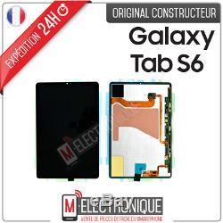 Ecran LCD Noir Original Samsung Galaxy Tab S6 10.5 Sm-t860/t865