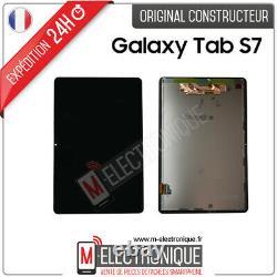 Ecran LCD Noir Original Samsung Galaxy Tab S7 Sm-t870 / Sm-t875