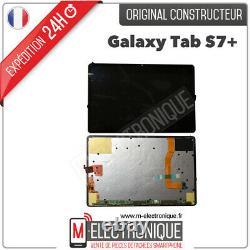 Ecran LCD Noir Original Samsung Galaxy Tab S7+ Sm-t970 / Sm-t975