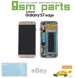 Ecran LCD OR Original Samsung Galaxy S7 EDGE SM-G935F