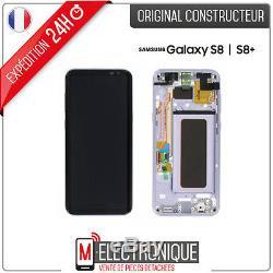 Ecran LCD Orchid Grey / Violet Original Samsung Galaxy S8+ G955F