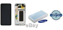 Ecran LCD Original Complet Argent Samsung Galaxy S8 (G950F) SERVICE PACK