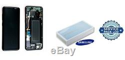 Ecran LCD Original Complet Noir Carbone Samsung Galaxy S8 (G950F) SERVICE PACK