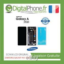 Ecran LCD Original Samsung Galaxy A51 Noir (gh82-21669a) -tva