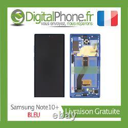Ecran LCD Original Samsung Galaxy Note 10+ (n975f) Bleu (gh82-20838d) -tva