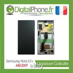 Ecran LCD Original Samsung Galaxy Note 10+ (n975f) Silver (gh82-20838c) -tva