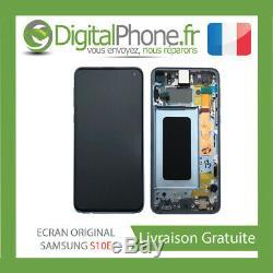 Ecran LCD Original Samsung Galaxy S10e Contour Bleu Gh82-18852c-tva