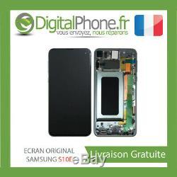 Ecran LCD Original Samsung Galaxy S10e Contour Vert Gh82-18852e -tva