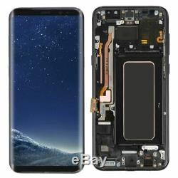 Ecran LCD Original Samsung Galaxy S8 Noir Produit Samsung Service Pack