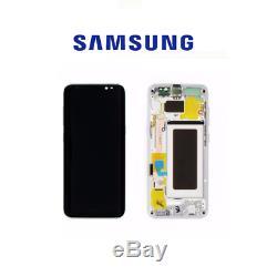 Ecran LCD Original Samsung Galaxy S8 Silver Produit Samsung