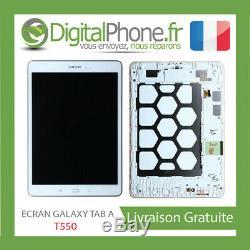 Ecran LCD Original Samsung Galaxy Tab A T550 Blanc Gh97-17400c -tva