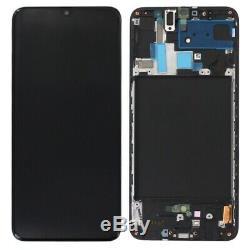 Ecran LCD Original +Vitre Tactile Samsung Galaxy A70 Noir SM A705F + Châssis