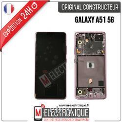 Ecran LCD Rose Original Samsung Galaxy A51 5g Sm-a516b