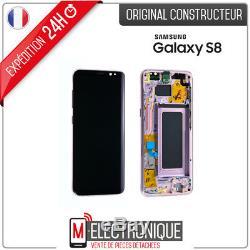 Ecran LCD Rose Original Samsung Galaxy S8 G950F
