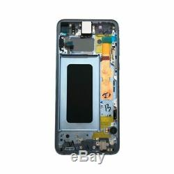 Ecran LCD Samsung G970 Galaxy S10E bleu ORIGINAL OFFICIEL