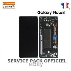 Ecran LCD Samsung Galaxy Note 8 Noir N950f Original Service Pack