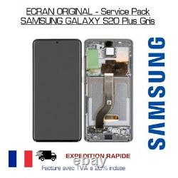 Écran LCD Samsung Galaxy S20 Plus + Vitre Tactile Original Samsung Service Pack