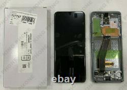 Ecran LCD Samsung Galaxy S20 SM-G980 Noir Original (Service Pack)