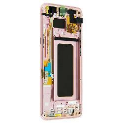Écran LCD Samsung Galaxy S8 Plus Bloc Complet Tactile Original Samsung rose