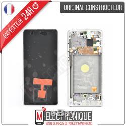 Ecran LCD Silver Original Samsung Galaxy Note 10 Lite Sm-n770f