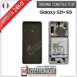 Ecran LCD Silver Original Samsung Galaxy S21+ Sm-g996b