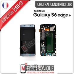 Ecran LCD Silver Original Samsung Galaxy S6 Edge + G928