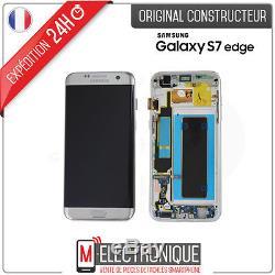 Ecran LCD Silver Original Samsung Galaxy S7 Edge G935F