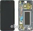 Écran LCD Sur Châssis Gris service pack Samsung Galaxy S9 (G960F) Original