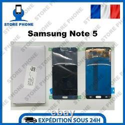 Ecran LCD + Tactile Samsung Galaxy Note 5 SM-N920 Bleu Original (SERVICE PACK)