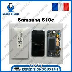 Ecran LCD + Tactile Samsung Galaxy S10e SM-G970 Noir Original (SERVICE PACK)