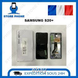 Ecran LCD + Tactile Samsung Galaxy S20 Plus SM-G985 Noir Original (SERVICE PACK)