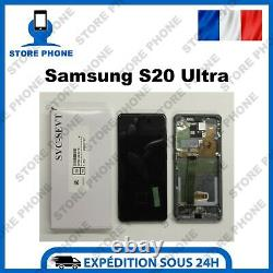 Ecran LCD +Tactile Samsung Galaxy S20 Ultra SM-G988 Gris Original (SERVICE PACK)