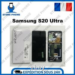 Ecran LCD +Tactile Samsung Galaxy S20 Ultra SM-G988 Noir Original (SERVICE PACK)