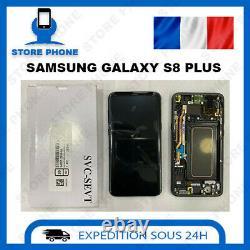 Ecran LCD + Tactile Samsung Galaxy S8 Plus SM-G955 Noir Original (SERVICE PACK)