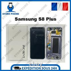 Ecran LCD +Tactile Samsung Galaxy S8 Plus SM-G955 Violet Original (SERVICE PACK)